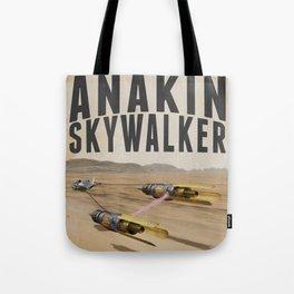 Podracing with Anakin Skywalker Tote Bag