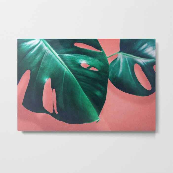 MONSTERA #2 Metal Print