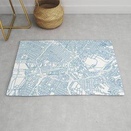 Street MAP Los Angeles // Blue Rug