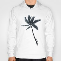 coconut wishes Hoodies featuring Coconut Palms by Art by Risa Oram