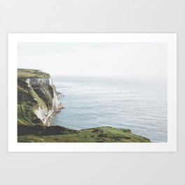 White Cliffs of Dover (full) Art Print