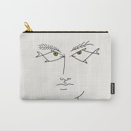 Poster-Jean Cocteau-Linear drawings-Fish eyes. Carry-All Pouch