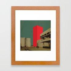 Block 21 Framed Art Print