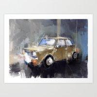 minion Art Prints featuring Minion by mystudio69