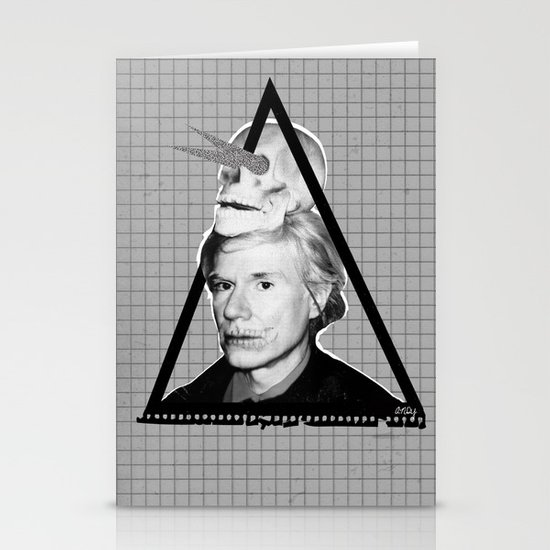 Andy Warholian Stationery Cards