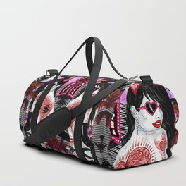 My Funny Valentine Duffle Bag