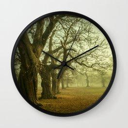 The Winter Trees Wall Clock
