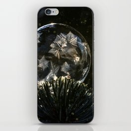 Frozen stars iPhone Skin