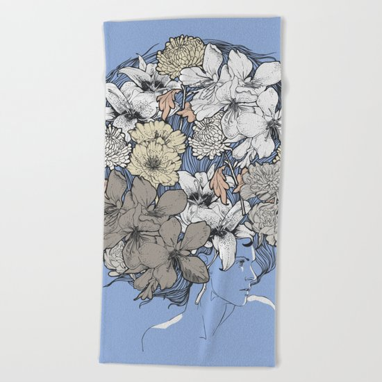 INSIGHT BLOOM Beach Towel
