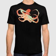 Octopus Mens Fitted Tee MEDIUM Black