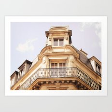 Paris Apartment Art Print