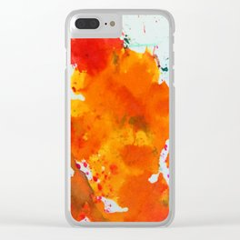 Splat! Clear iPhone Case