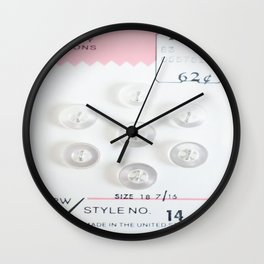 Quality for 62 Cents Wall Clock