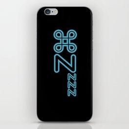 Command Zzzz... Retro iPhone Skin