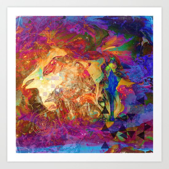 levels of consciousness Art Print