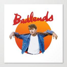 Badlands - Martin Sheen Canvas Print