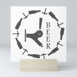 Brewery Beer Pub Handcrafted style Fashion Modern Design Print! Mini Art Print