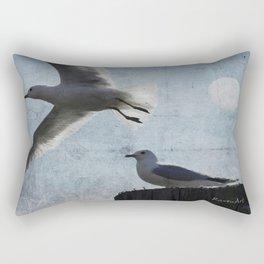 Fly to Eden Rectangular Pillow