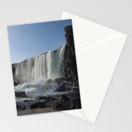 Iceland Golden Circle Stop - Waterfall Stationery Cards