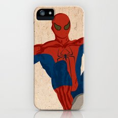 spiderman, spiderman does whatever a spider can Slim Case iPhone (5, 5s)