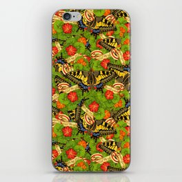 Old World Swallowtail Cacophony iPhone Skin