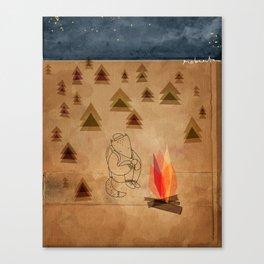 Camp Life Canvas Print
