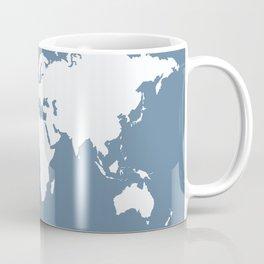 French Gray Elegant World Coffee Mug