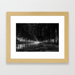 The Look Back Framed Art Print