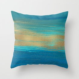 Oil Painting Brush Strokes 2 Throw Pillow