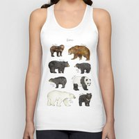 bears Tank Tops featuring Bears by Amy Hamilton