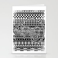 ethnic Stationery Cards featuring ethnic by jun salazar