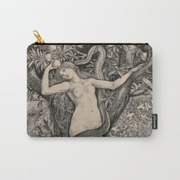 Eve And The Serpent Carry-All Pouch