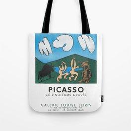 Pablo Picasso 45 Linoleums Graves 1960 T Shirt, Artwork For Posters, Prints, Tshirts, Men, Women, Ki Tote Bag
