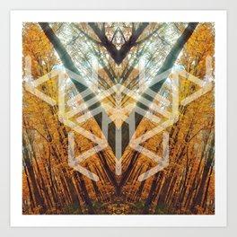 Sanctus Symbology 4 Art Print