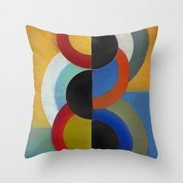 Circles 4 Throw Pillow
