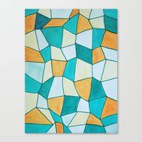 square Canvas Prints featuring Square by sinonelineman