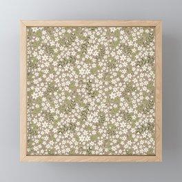 Jonquil Field Framed Mini Art Print