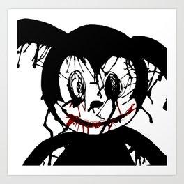 Oswald the Unlucky Rabbit Art Print