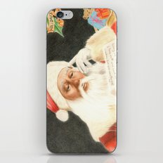Letter to Santa Claus iPhone & iPod Skin
