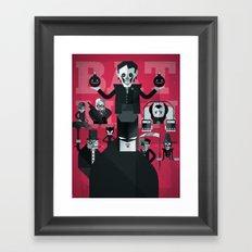 dark man fan art Framed Art Print