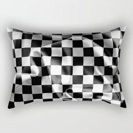 Chequered Flag Rectangular Pillow