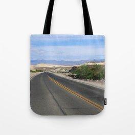 Long Desert Road Tote Bag