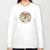 botanical Long Sleeve T-shirts featuring Botanical by Bambouchic