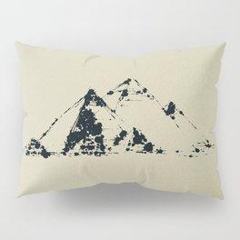 Splaaash Series - Pyramids Ink Pillow Sham