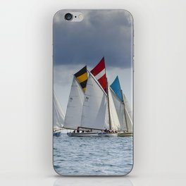 Falmouth Working Boats iPhone Skin