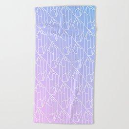 Crystal Pattern Beach Towel