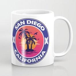Surf San Diego California Coffee Mug