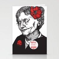 helen Stationery Cards featuring Helen Keller  by Parker Nugent Illustration