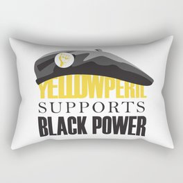 Yellow Peril Rectangular Pillow