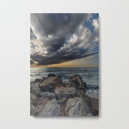 Bridge across the sky to the other side Metal Print